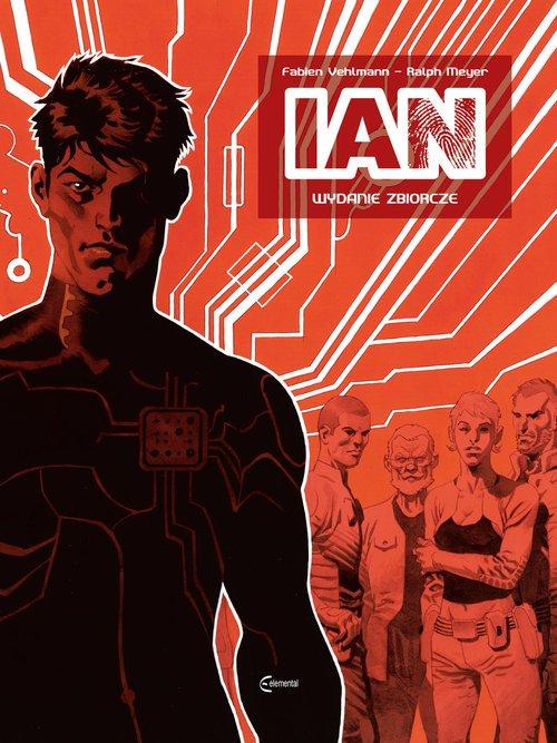 IAN - Wydanie Zbiorcze - okładka książki