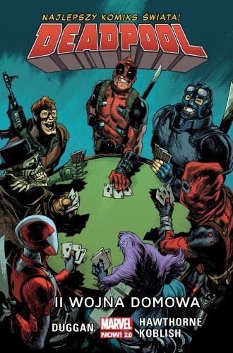 II wojna domowa. Deadpool - okładka książki