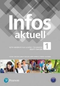Infos aktuell 1. Szkoła ponadpodstawowa - okładka podręcznika
