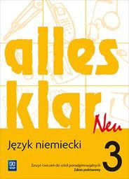 Alles Klar. Język niemiecki. Szkoła - okładka podręcznika