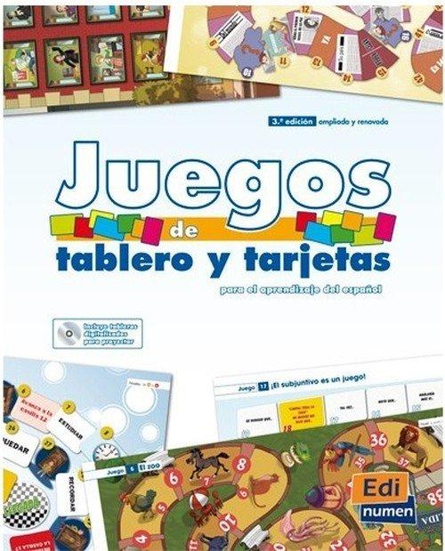 Juegos de tablero y tarietas - okładka podręcznika