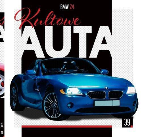 Kultowe Auta. Tom 40. BMW Z4. BMW - okładka książki
