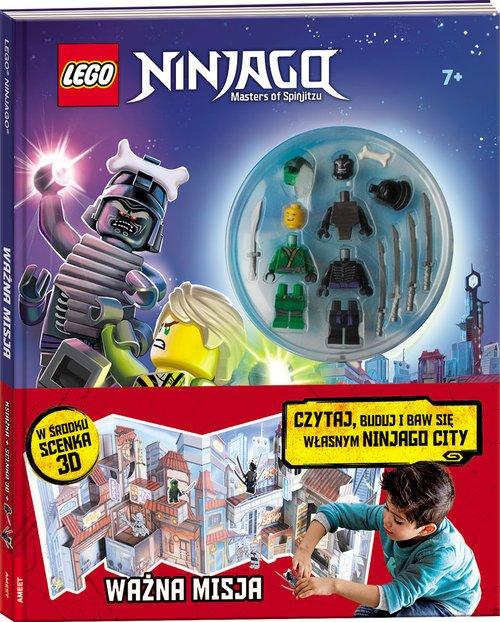 LEGO Ninjago. Ważna misja. Czytaj, - okładka książki