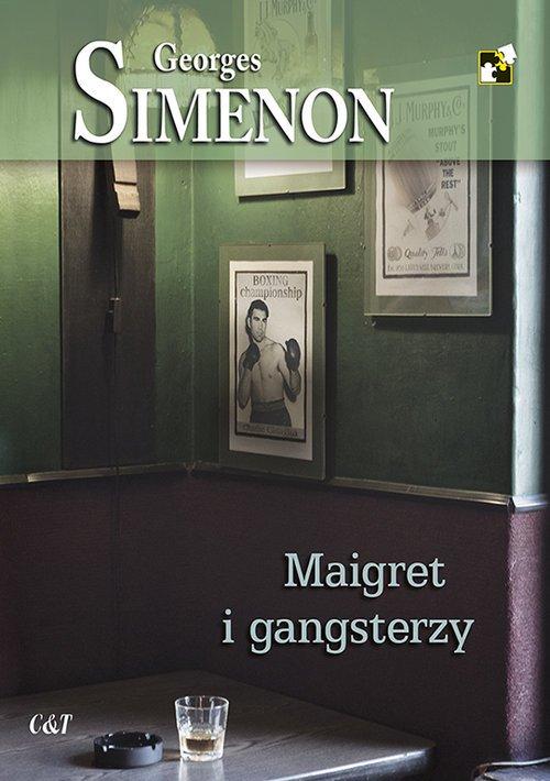 Maigret i gangsterzy - okładka książki