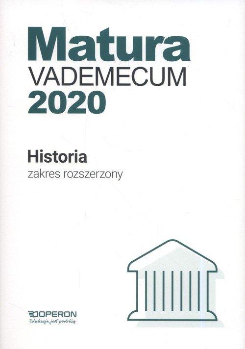 Matura. Historia. Vademecum 2020. - okładka podręcznika