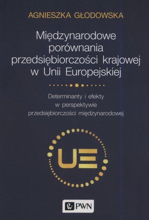 Międzynarodowe porównania przedsiębiorczości - okładka książki