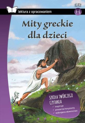 Mity greckie dla dzieci. Krótkie - okładka podręcznika