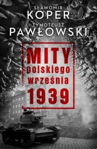 Mity polskiego września 1939 - okładka książki