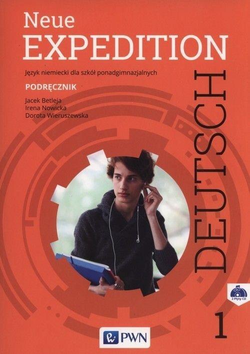 Neue Expedition Deutsch 1. Liceum - okładka podręcznika