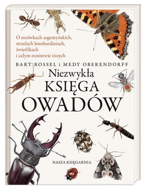 Niezwykła księga owadów - okładka książki