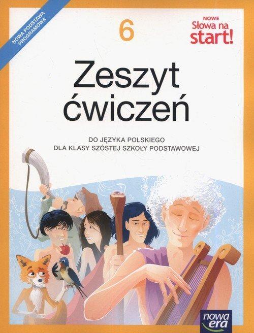 Nowe Słowa na start! Klasa 6. Szkoła - okładka podręcznika