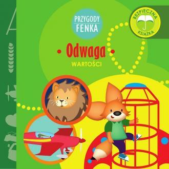 Odwaga. Przygody Fenka - okładka książki