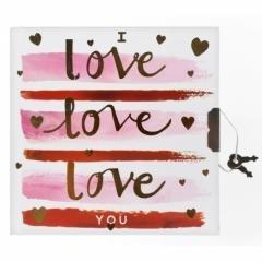 Pamiętnik na kłódkę Love - okładka książki