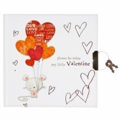 Pamiętnik na kłódkę Valentine - okładka książki