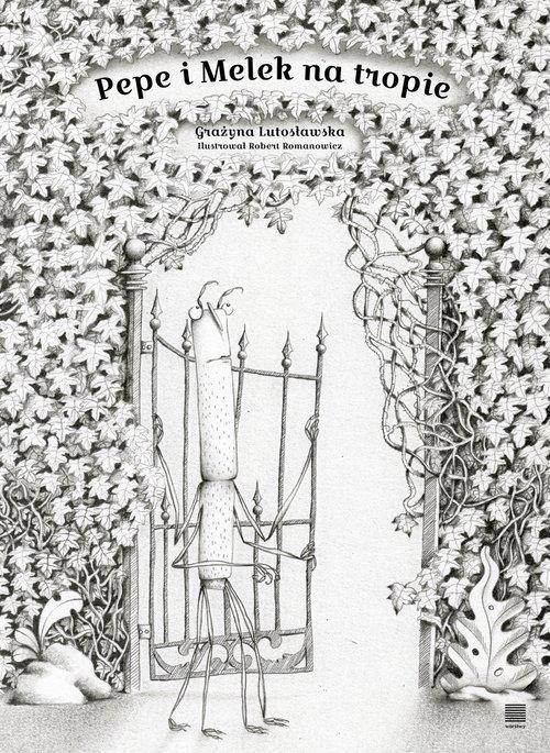 Pepe i Melek na tropie - okładka książki