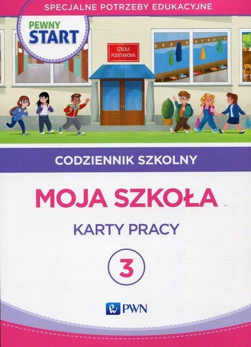 Pewny start. Codziennik szkolny - okładka podręcznika