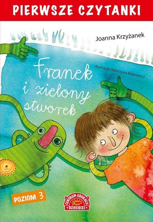 Pierwsze czytanki. Franek i zielony - okładka książki