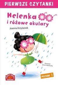 Pierwsze czytanki. Helenka i różowe - okładka książki