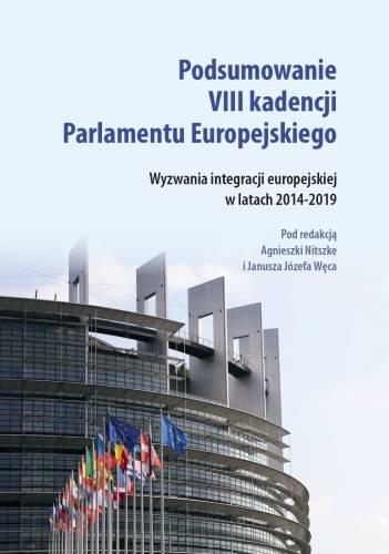 Podsumowanie VIII kadencji Parlamentu - okładka książki