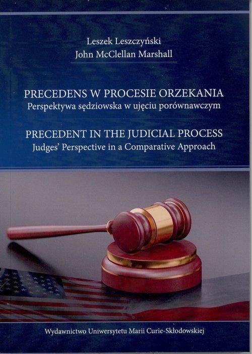 Precedens w procesie orzekania. - okładka książki