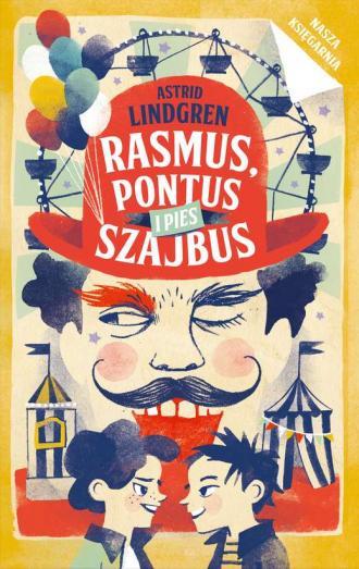 Rasmus, Pontus i pies Szajbus - okładka książki