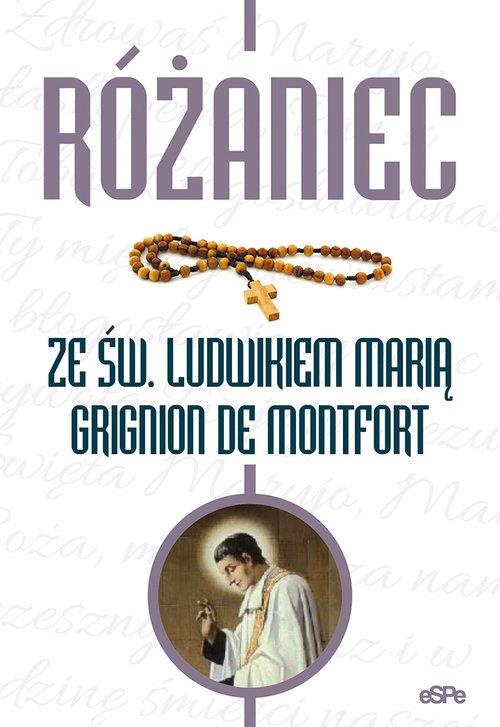 Różaniec ze św. Ludwikiem Marią - okładka książki