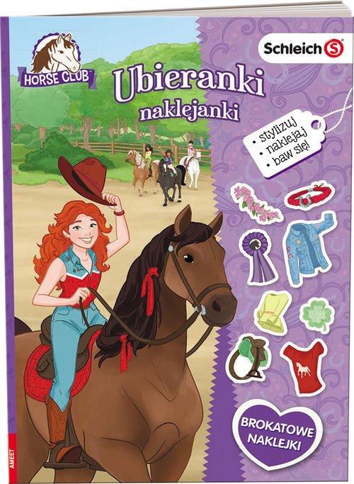 Schleich Horse Club. Ubieranki - okładka książki