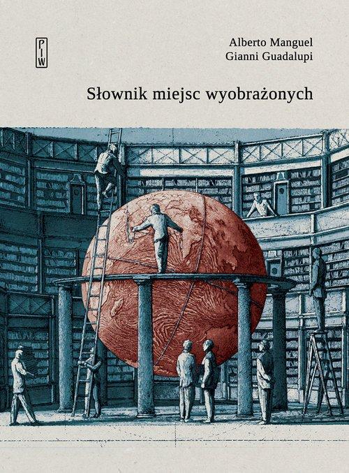 Słownik miejsc wyobrażonych - okładka książki