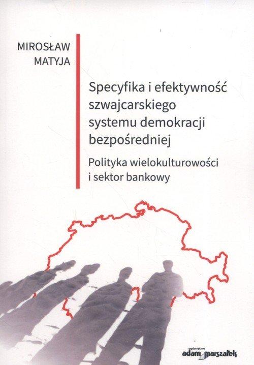 Specyfika i efektywność szwajcarskiego - okładka książki