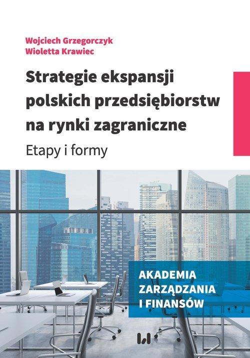 Strategie ekspansji polskich przedsiębiorstw - okładka książki