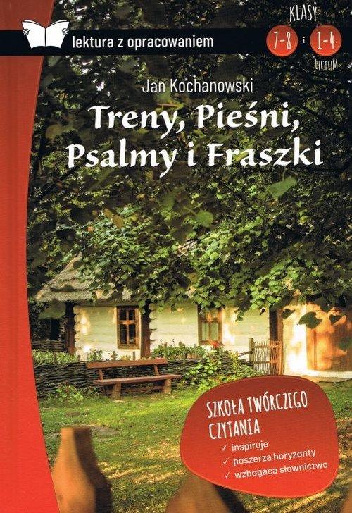 Treny, Pieśni, Psalmy i Fraszki - okładka podręcznika