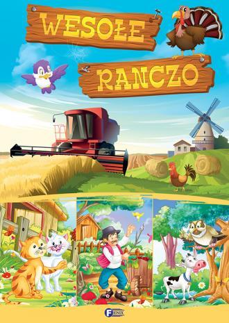 Wesołe ranczo - okładka książki