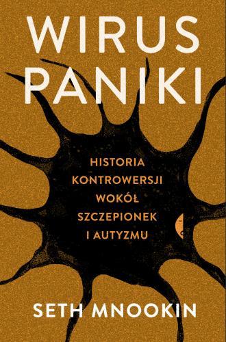 Wirus paniki. Historia kontrowersji - okładka książki
