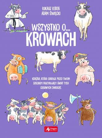Wszystko o... krowach - okładka książki