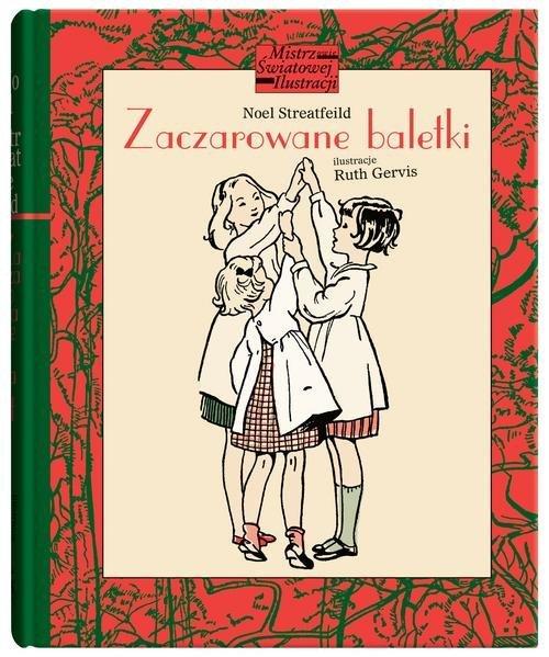 Zaczarowane baletki - okładka książki