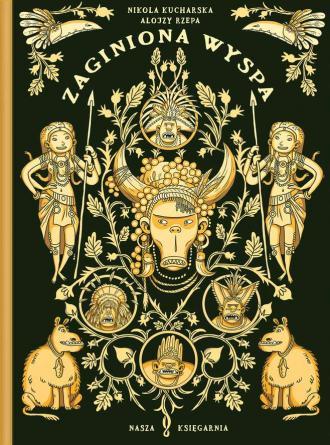 Zaginiona wyspa - okładka książki