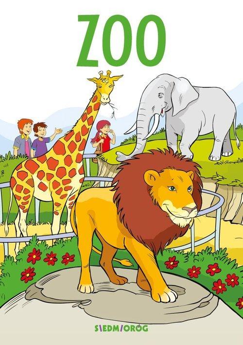 ZOO. Kolorowanka edukacyjna - okładka książki