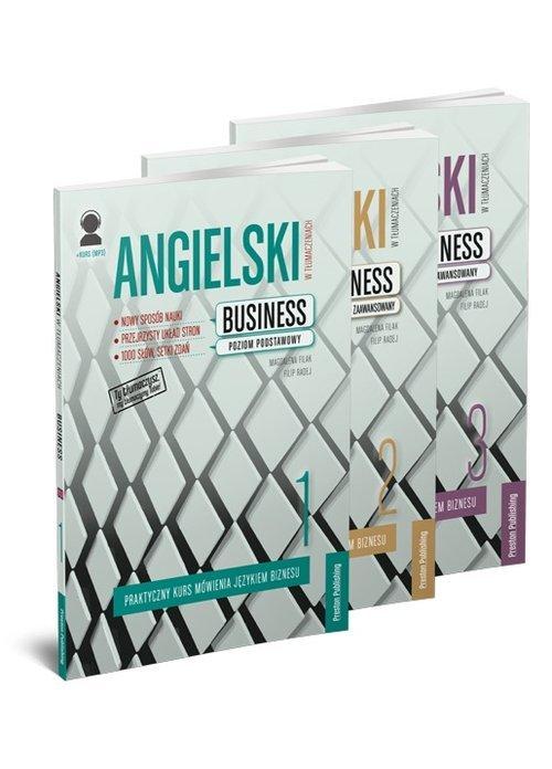 Angielski w tłumaczeniach Business. - okładka podręcznika