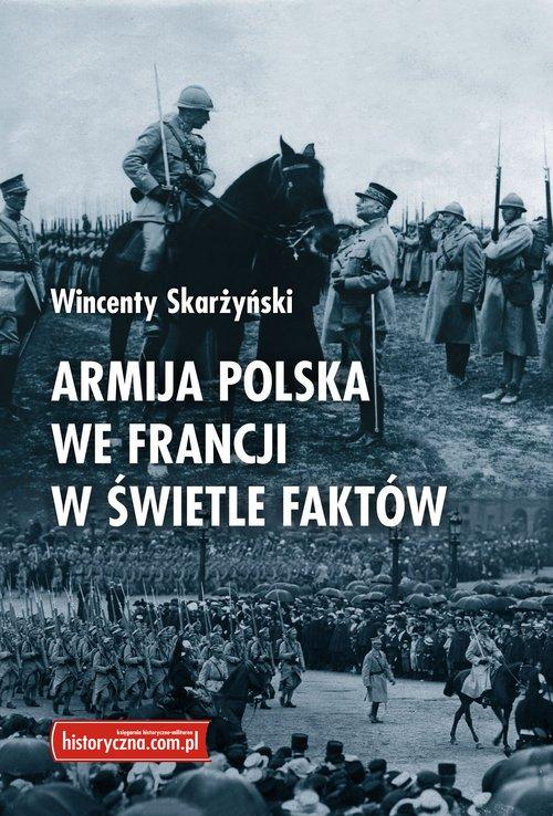 Armija polska we Francji w świetle - okładka książki