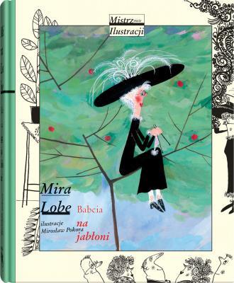 Babcia na jabłoni - okładka książki