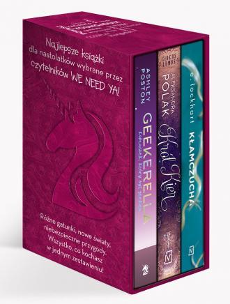 Bestsellerowe powieści dla młodych - okładka książki