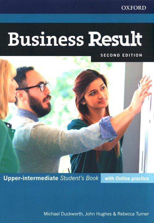 Business Result 2E Upper-Inter. - okładka podręcznika