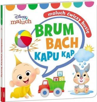 Disney Maluch Maluch ćwiczy buzię - okładka książki