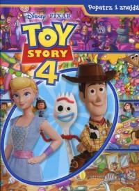 Disney Toy Story 4. Popatrz i znajdź - okładka książki
