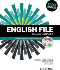 English File 3E Advanced Multipack - okładka podręcznika