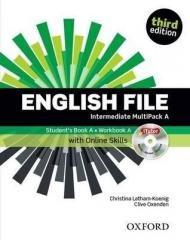 English File 3E Interm. Multipack - okładka podręcznika