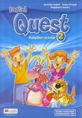 English Quest 2 SB w.2017 - okładka podręcznika