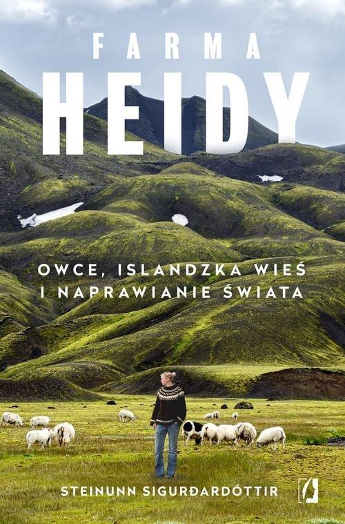 Farma Heidy. Owce, islandzka wieś - okładka książki