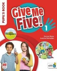Give Me Five! 1 Pupil s Book Basic - okładka podręcznika
