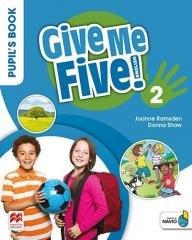 Give Me Five! 2 Pupil s Book Pack - okładka podręcznika